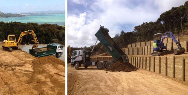 manaia excavators at work