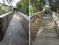 Boardwalks and bridges