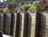 Courtyard Retaining Wall